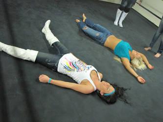 Santana and Barbie Hayden Unconscious (NEFW 163) by ryko88