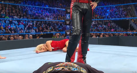 Lana Unconscious (Smackdown 01/01/2019) by ryko88
