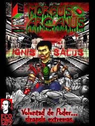Portada comic IGNIS SALUS by Evilspout