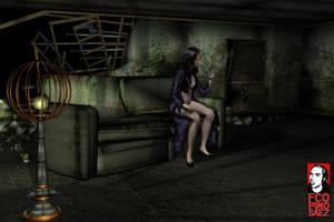 Propuesta escenografia by Evilspout