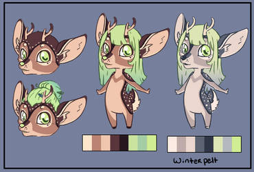 Deer Adoptable: 25$ by ClockworkSheep