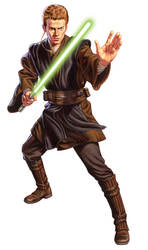 Anakin Skywalker by jasonedmiston