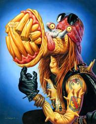 Monsters of Rock: Axl by jasonedmiston