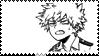 bakugou katsuki manga stamp by moo-nicorn