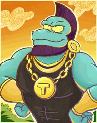 Mr. T....Rex. by LemonCoffee