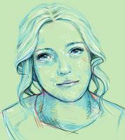 portrait practice by bialykots