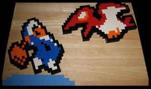 Lego Iceclimber vs Nitpicker by Spawn-of-Jack