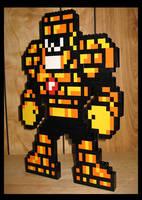 Lego Stoneman - Megaman 5 by Spawn-of-Jack