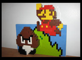 Lego Super Mario - World 1-1 by Spawn-of-Jack