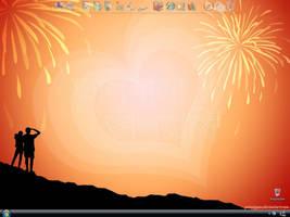 My valentine desktop by potasiyam
