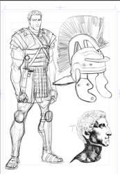 Titus sketches by Cartoonrealism