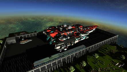 StarMade - Void Frigate by thakyZ
