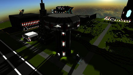 StarMade - Airport Control Tower by thakyZ