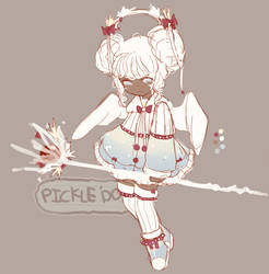 [Closed][Set Price] Winter Lolita by PickleAdopts