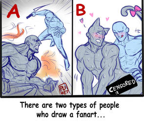 There are two types of people... by Tazaca