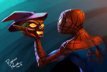 Spider Man's halloween by superpascoal