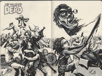 The Walking Dead by superpascoal