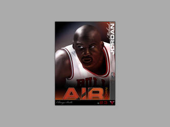 Michael Jordan Illustration by djgeringer