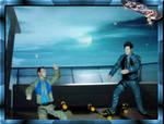 Skateboarding Atlantis by Mella68