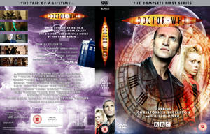 DOCTOR WHO SERIES 1 DVD COVER by MrPacinoHead
