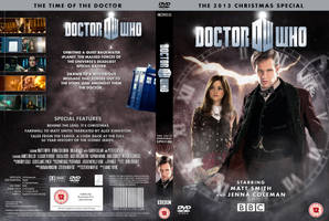 DOCTOR WHO : Time Of The Doctor DVD by MrPacinoHead