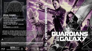 GUARDIANS OF THE GALAXY BLU-RAY by MrPacinoHead