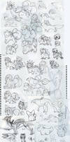. Sketch Dump O Doom . by Laseros