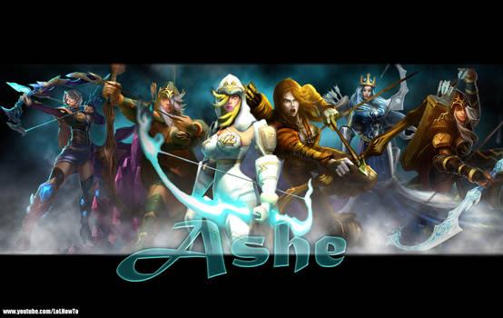 LoL - Ashe Army Wallpaper by AL3KSAND3R