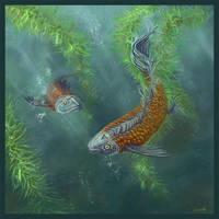 The Fish Pond by zumbooruk