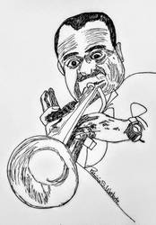 Louis Armstrong by scrappinpatw