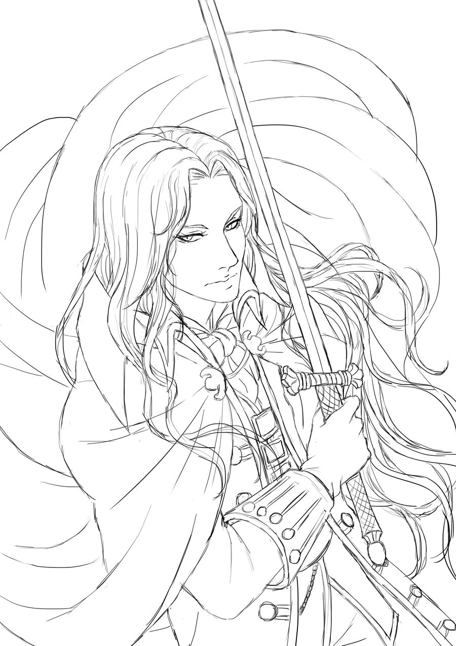 Alucard - work in progress by Meerclar
