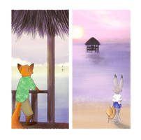Commission-Distance and Perspective by Francesca-ictbs