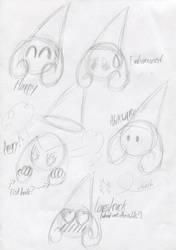 Princess Random Expressions by Mr86Returns