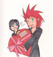 Valentine for Xion by Kyley