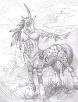 native american taur by LilleahWest
