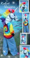 Robot Unicorn Cosplay by LilleahWest