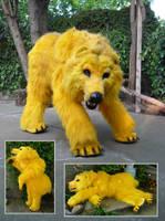 Golden Bear Quadsuit by LilleahWest