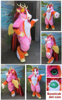 Pink Longma by LilleahWest