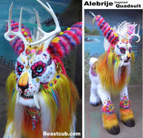 Alebrije Inspired Quadsuit by LilleahWest