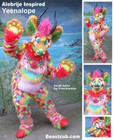 Alebrije Inspired Yeenalope by LilleahWest