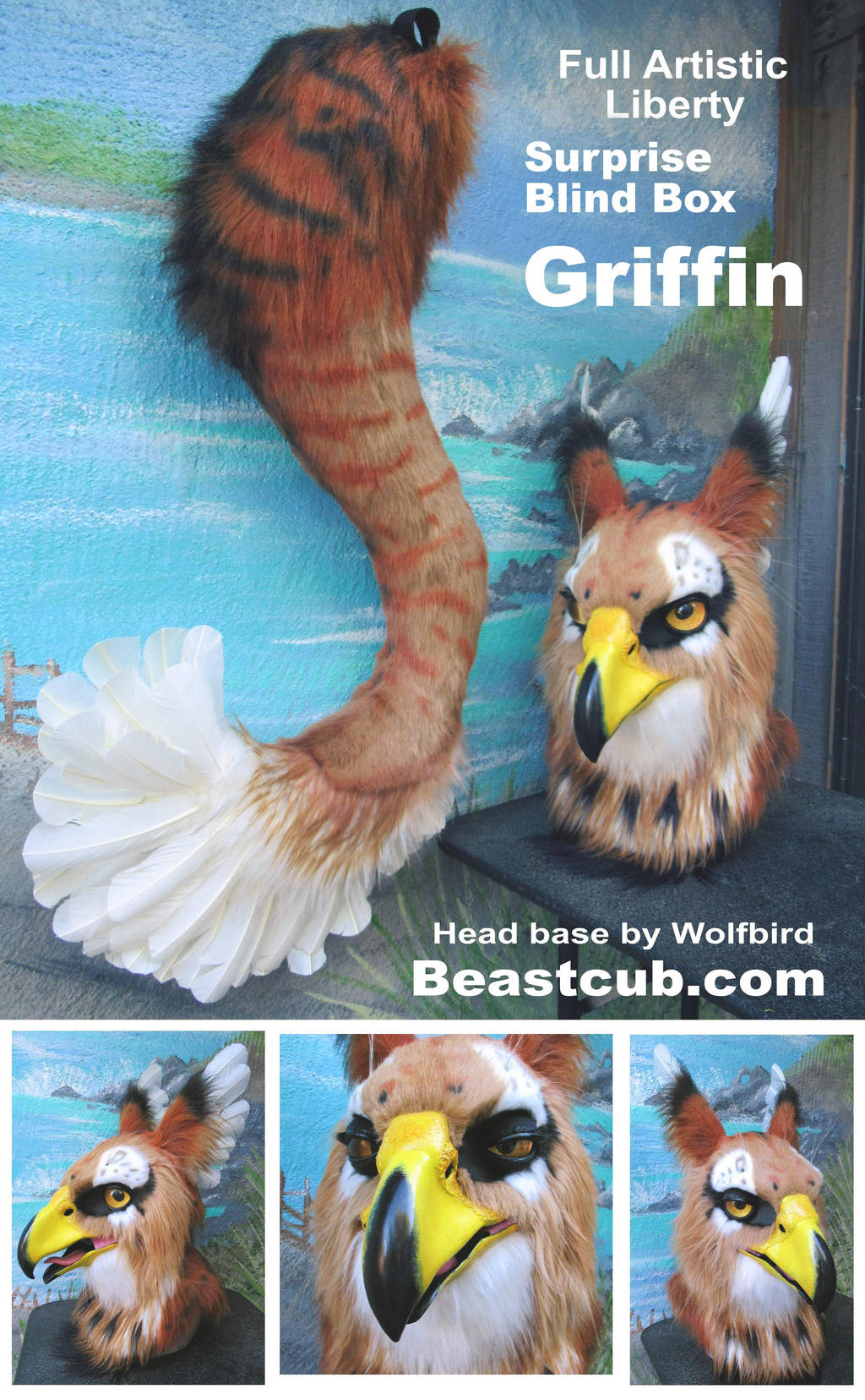 Blind Box Griffin by LilleahWest