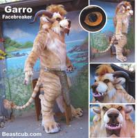 Garro Facebreaker by LilleahWest