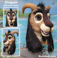 Clopan the Goat by LilleahWest