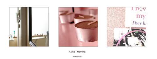 Haiku - Morning by hesitation