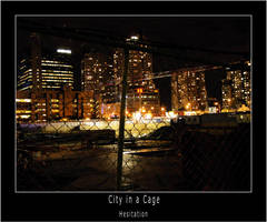 City in a Cage by hesitation