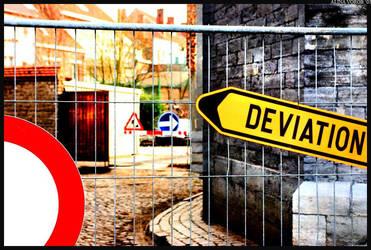 Belgian Deviation by hesitation