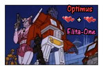 Elita and Optimus by GeminiGirl83