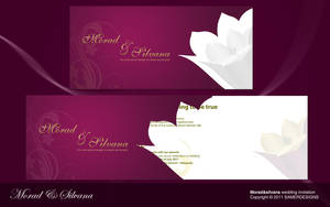wedding invitation by samerwagdyhalim