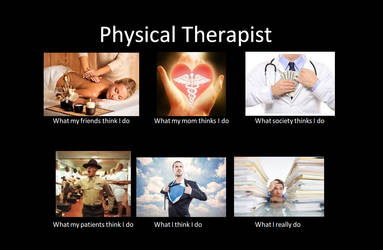 Physical therapist by Calura
