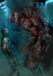 My Enemy aka Gears of War by patryk-garrett